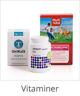 Vitaminer og kosttilskud